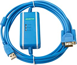 AMSAMOTION USB-XW2Z-200S-CV+ Suitable Omron CQM1H CPM2 CJ1M Programming Cable Data Download Cable