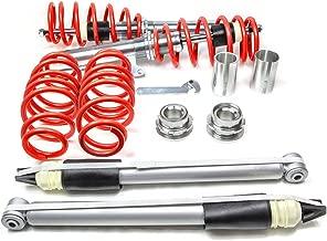 PROMOTORING For RSK Street Coilover Kit - Audi A3/S3 8V & VW Golf/GTI MK7 - Red (2015 2016)