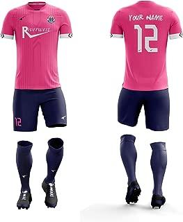 Ucan ORKY Customize Soccer Jersey Short Personalize Name Logo Number Men Kids Football Uniform