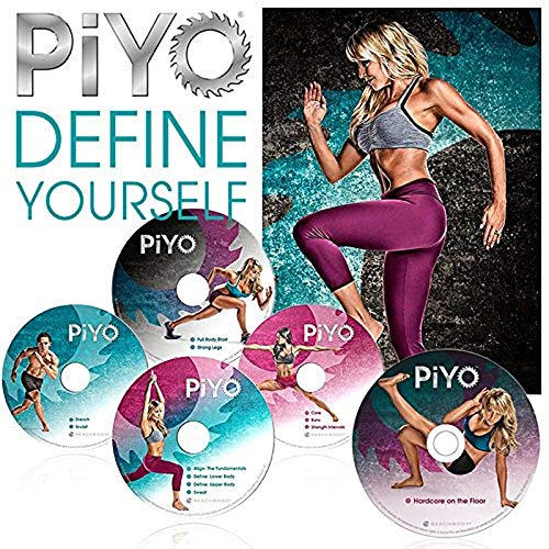 Oriflame PiYo Base Kit 5 DVDs Workout with Exercise Videos & Fitness Tools and Nutrition Guide