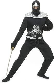 Black Ninja Avenger Adult Costume