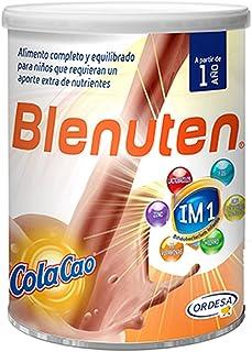 Blenuten Cola Cao 800grs. alimento completo y equilibrado para niños que requieran un aporte extra