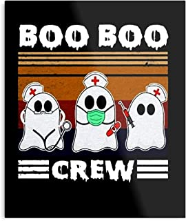 Boo Crew This is of Employee Stethoscope Worker Trend Quarantine Hot Categories Vintage Nurse - Impressive Posters for Roo...