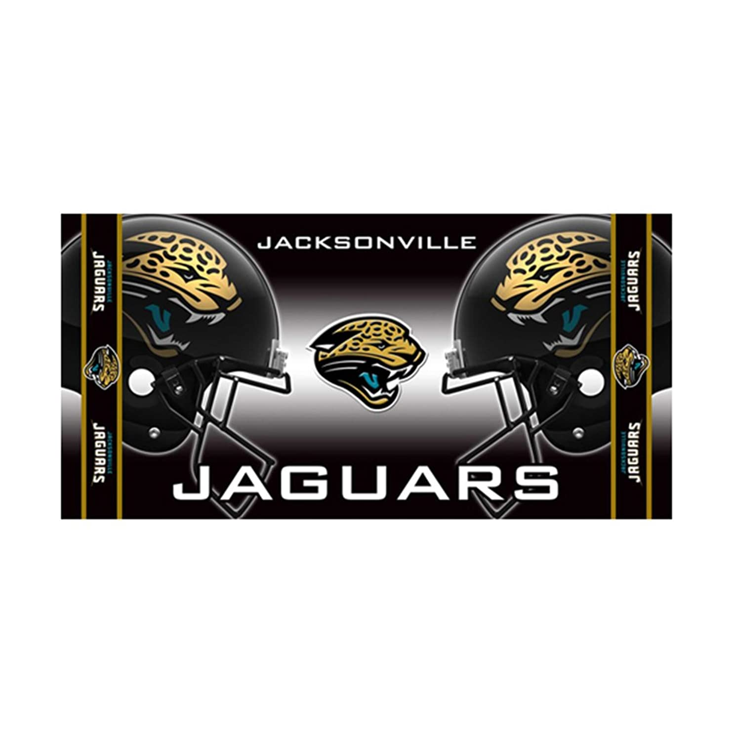 隣接飛行機交響曲McArthur Sports Jacksonville Jaguars Reactive Beach Towel