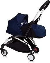 Babyzen Yoyo+ Stroller - White Frame - 0+ Newborn Pack - Air France Blue