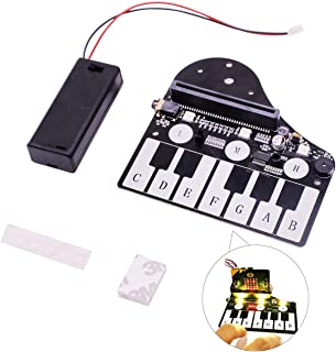 Yahboom Micro:bit Expansion Board Piano Development Board for BBC Microbit Accessories for STEM Learning Code Compatible w...