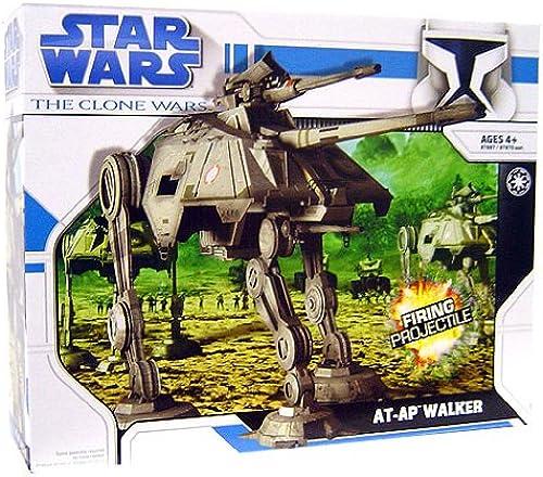 AT-AP (All Terrain Attack Pod) + 1 Clone Trooper 41st Elite Corps als Set - Star Wars The Clone Wars 2011 von Hasbro