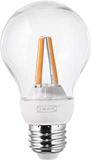 IKEA 503.887.63 Ledare Led Bulb E26 600 Lumen, Dimmable Warm Dimming, Globe Clear