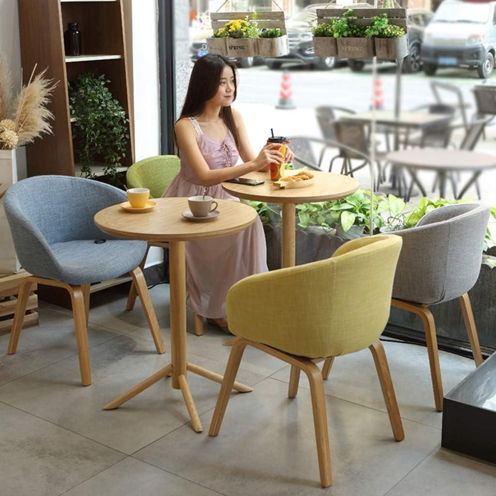 HXF- Chaise de salle à manger, chaise de bureau simple, dossier créatif, chaise de loisirs, chaise de salle à manger pour adulte durable (couleur : vert) Gris Clair