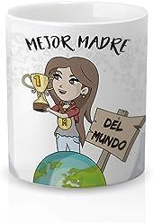 Taza con Mensaje Mi Madre Mola Mucho. Resistente 100/% al microondas y lavavajillas Yujuuu! Taza cer/ámica Original Madre