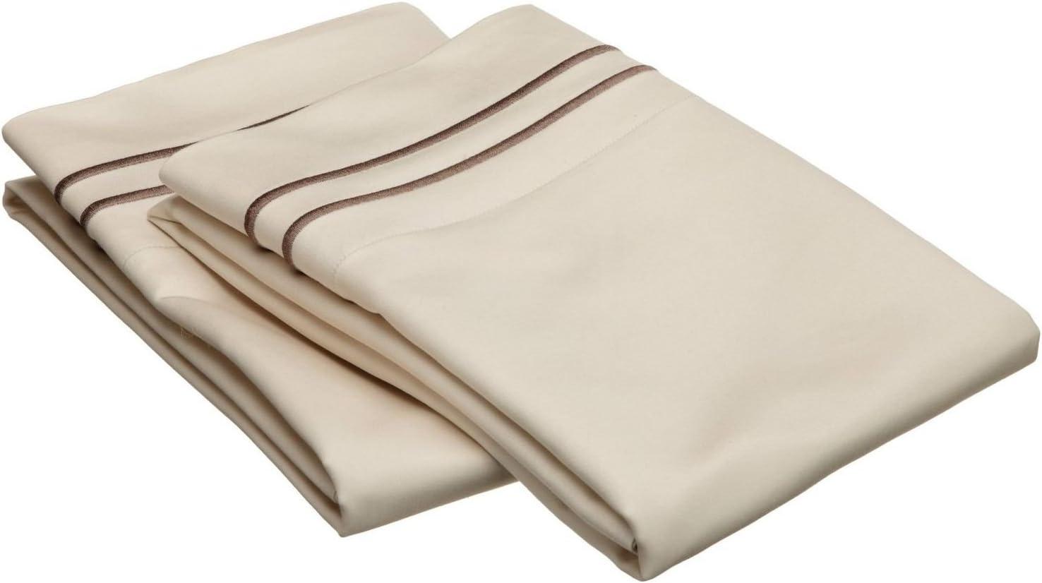 BLUENILEMILLS Egyptian Cotton Premium Sale Special Price 800-Thread Set Washington Mall Pillowcase