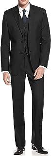 Men's 2 Button Avant Garde Modern Fit Vested Suit
