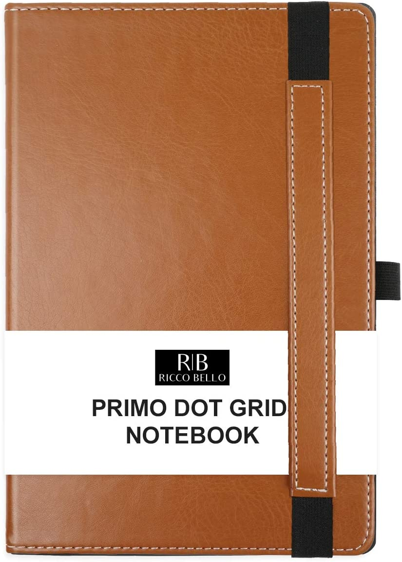 RICCO Fashionable BELLO Primo Dot Hardcover Lay Notebook for Bullet Free shipping on posting reviews Flat Sty