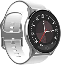 Smart Watch Touch Screen Blood Pressure Heart Rate Fitness Tracker Blood Oxygen Waterproof Pedometer Step Counter Calorie Sleep Message Notification iOS Android Smart Watch for Men Women