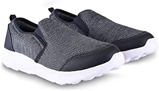 Action Men's Slip On Synthetic Fabric EVA Rubber Sole Sports/Casual/Running Shoes