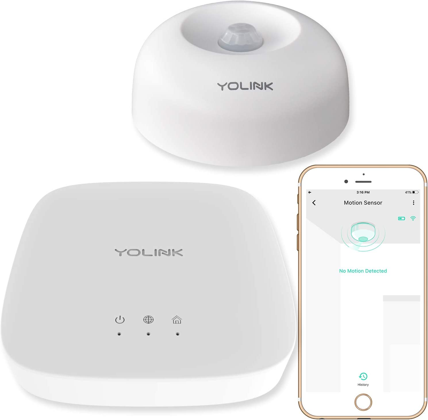 Special sale item Smart Max 68% OFF Motion Sensor YoLink 1 4 Mile Wirel Longest Range World's