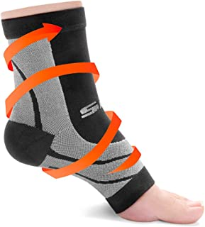 Plantar Fasciitis Compression Socks - Foot Pain Sock - Ankle Sleeve - Wrap for Fascitis Arch Support