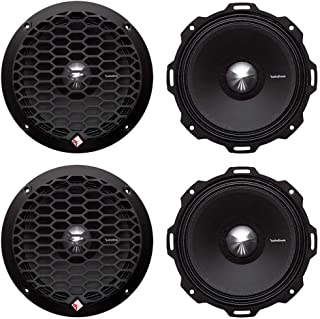 "4 Rockford Fosgate PPS4-6 6.5"" 800 Watt 4-Ohm Midrange Car Loudspeakers Speaker"
