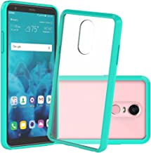 Bear Motion Case with Shockproof TPU Bumper and Scratch Proof PC Back Cover for LG (Green, LG Stylo4)