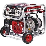 A-iPower SUA7000 7000-Watt Portable Generator Gas Powered, 7000 Rated Watt/6000 Running Watt, Red