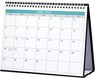 2021-2022 Desk Calendar - Standing Flip 2021-2022 Desktop Calendar, Generous Memo Lined Pages with Thick Paper,May. 2021 -...
