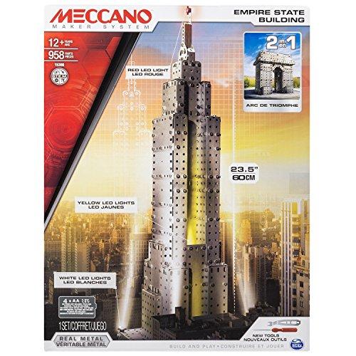 MECCANO 6024902 - Empire State Building 2.0 Embalaje Edificio El Edificio Empire State y el Arco del Triunfo