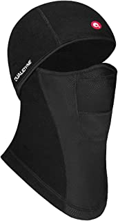 qualidyne Balaclava Windproof Ski Mask Winter face Cover Warmer Outdoor Sports Gear for Skiing、Motorcycling Black