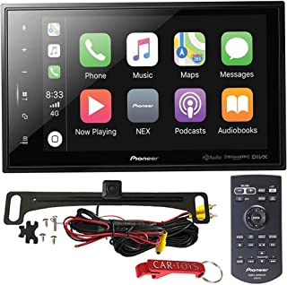 "$645 » Pioneer DMH-C5500NEX 8"" Car Stereo Safe Driver's Bundle with Voxx Backup Camera. Modular Capacitive Digital Receiver with ..."