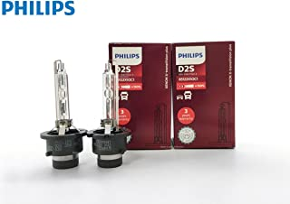 PHILIPS D2S X-tremeVision +150% Gen2 HID Xenon Bulbs 85122XV2 by ALI - Pack of 2