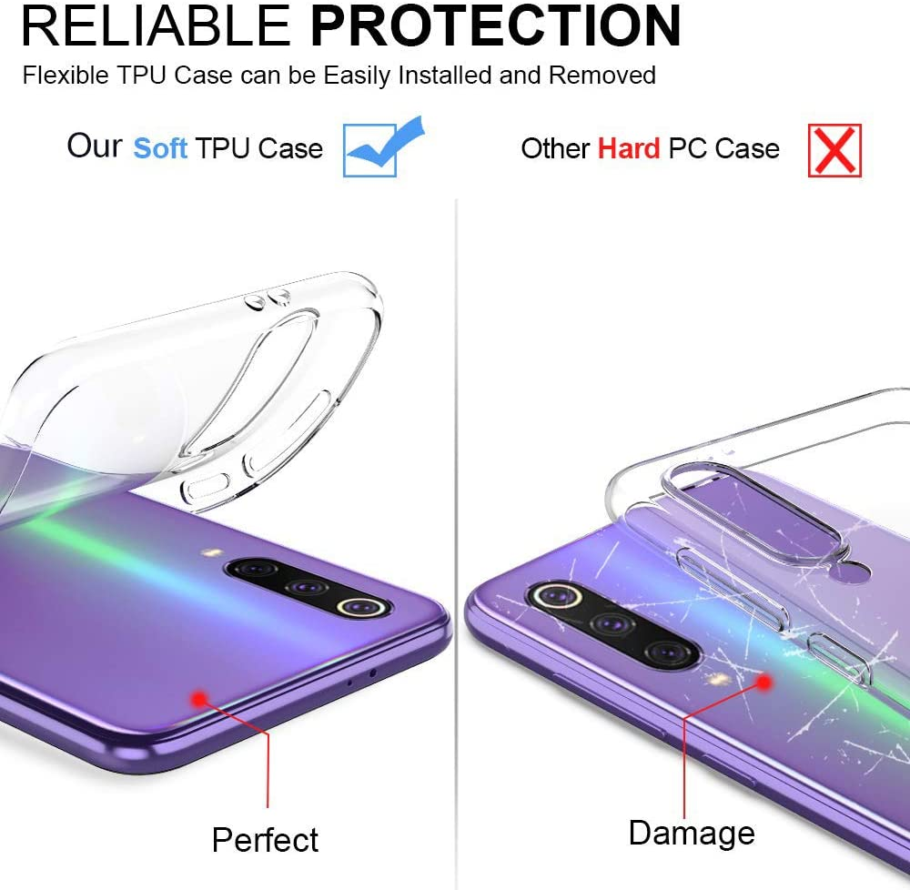 Oihxse Coque pour Motorola Moto One, Etui en Transparente Silicone TPU 3D Protection Bumper Ultra Mince Cristal Housse avec Motif Fille D'Ete Mer Anti Choc Cover (A7) A1