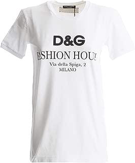 Dolce & Gabbana Women's Fashion House T-Shirt White
