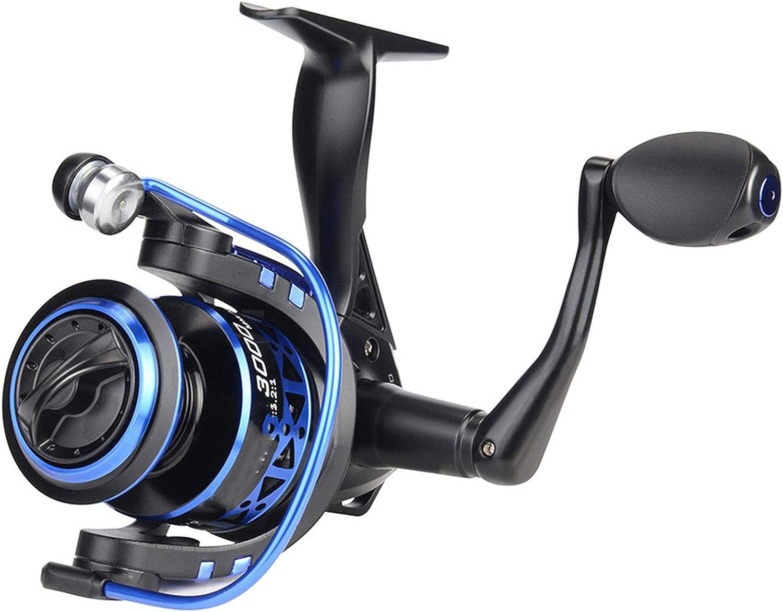 Low Profile Freshwater Spinning Reel Max Drag 8KG Carp Fishing Reel for Fishing 5005000 Series