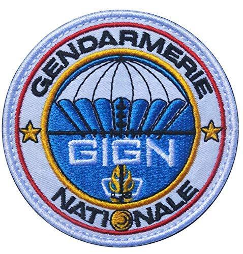 Ohrong GIGN France GENDARMERIE Nationale parche bordado moral táctico insignia brazalete emblema...