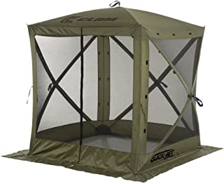 screen tent with privacy panels