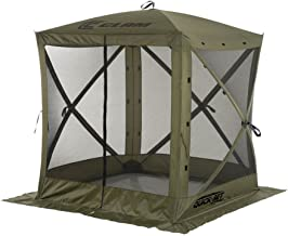 Quick Set 9870 Traveler Shelter, 72 x 72-Inch Portable Popup Gazebo Durable Tent Bug and..