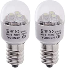 2 Pieces LED Light Bulbs 0.5W for Brother Singer Feiyue Acme Juki Butterfly Domestic Sewing Machine