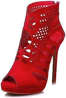 Fashion Women Jigsaw Work High Heel Sandals Peep Toe Platform Woman Summer Shoes