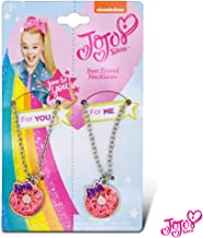 JoJo Siwa 2 Pack BFF Necklace On Card Pretend Play Toys