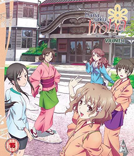 Hanasaku Iroha Pt1 (2 Blu-Ray) [Edizione: Regno Unito] [Blu-ray]