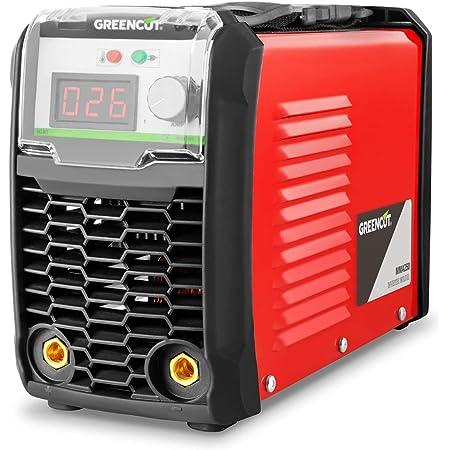 Greencut MMA-200 - Poste de Soudage Inverter DC MMA 200Amp iGBT Turboventized LCD Display