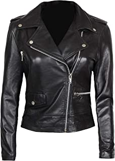 Best womens leather jacket motorcycle Reviews