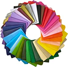"""Supla 180 Sheets 36 Colors Tissue Paper Bulk Wrapping Tissue Paper Art Rainbow Tissue Paper 20 x 26"""" for Art Craft Floral ..."""