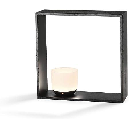 Flos Gaku Wireless Lampada Led In Legno Da Tavolo Ricaricabile Ad Induzione In Legno Frassino By Nendo Nero Amazon It Illuminazione