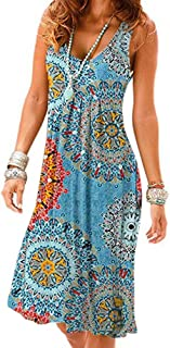 Women Summer Casual Sleeveless Mini Plain Pleated Tank Vest Dresses