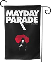 ShleyRobbie MayDay Parade Outdoor Garden Flag - (12.5x18,,28x40) Inch Double-Sided Decorative House Welcome Flag,Garden Banner for Home Outdoor Decoration