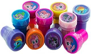 10 pcs Disney My Little Pony Self-inking Stamps Stampers Pencil Topper Authentic Disney Licensed