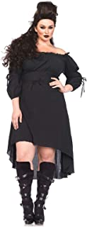 Women's High Low Peasant Dress Costume