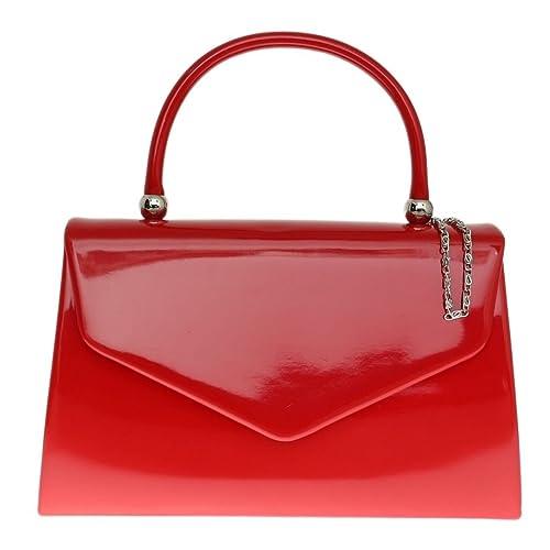 1e7f7dd5d96b SALE NEW Elegant Women's Classy Stylish Patent Leather Clutch Bag/Handbag/Chain  Crossbody bag