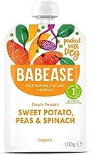 Babease Organic, Sweet Potato, Peas & Spinach 100g