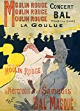 World of Art Henri de Lautrec Moulin Rouge C1891 250 GSM,